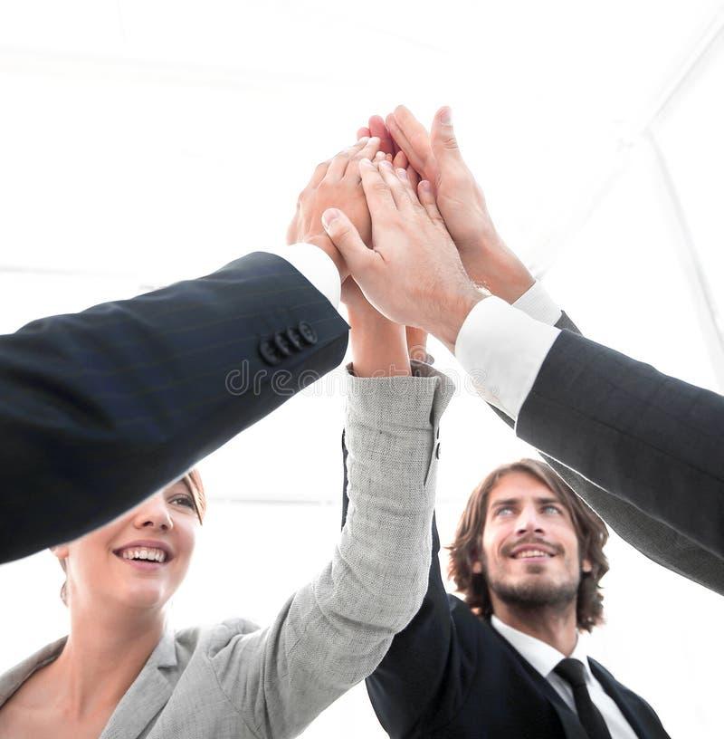 Closeup.professional business team. stock images
