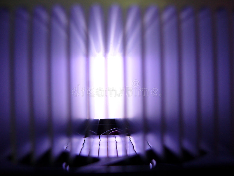 Download Closeup Of Radiator With Gradation Stock Photo - Image: 854848