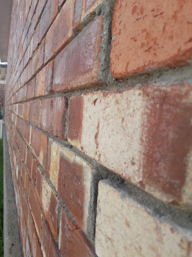 closeup of red bricks, vintage wall, background -image 2019. Closeup of red bricks, vintage wall, background -image 2019 royalty free stock images