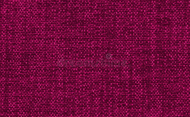 Closeup red,pink color fabric texture. Dark Red, strip line fabric pattern design sample or upholstery abstract background. Closeup red,pink color fabric stock photos