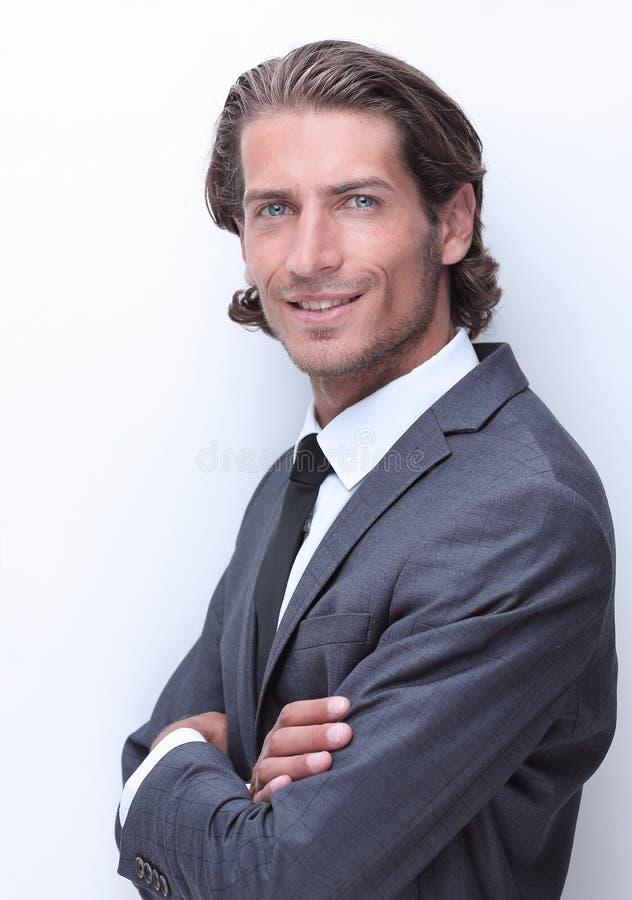 closeup Retrato do homem de negócio confiável fotos de stock