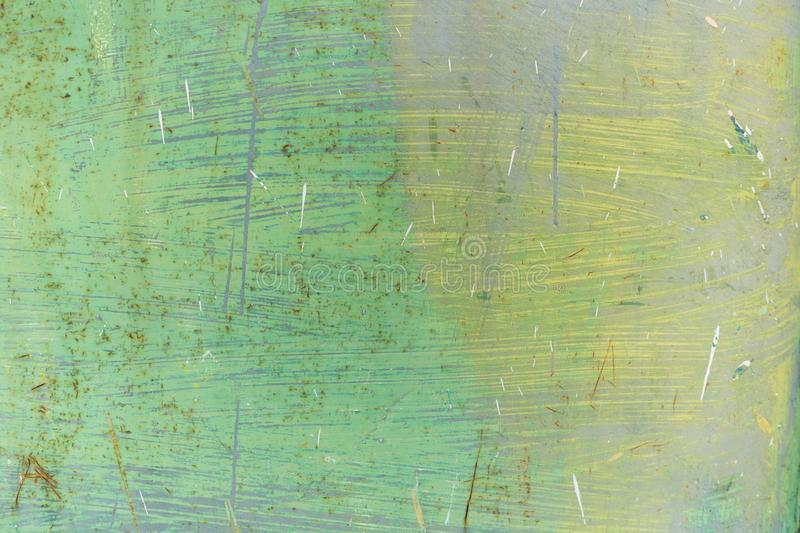 Closeup of rough grunge green textured background royalty free stock images