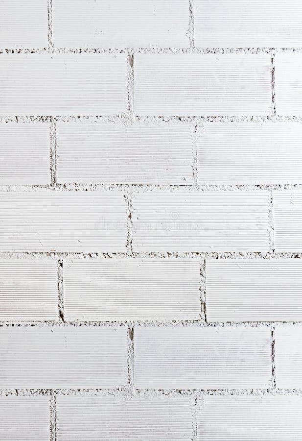 White brick wall texture royalty free stock photo