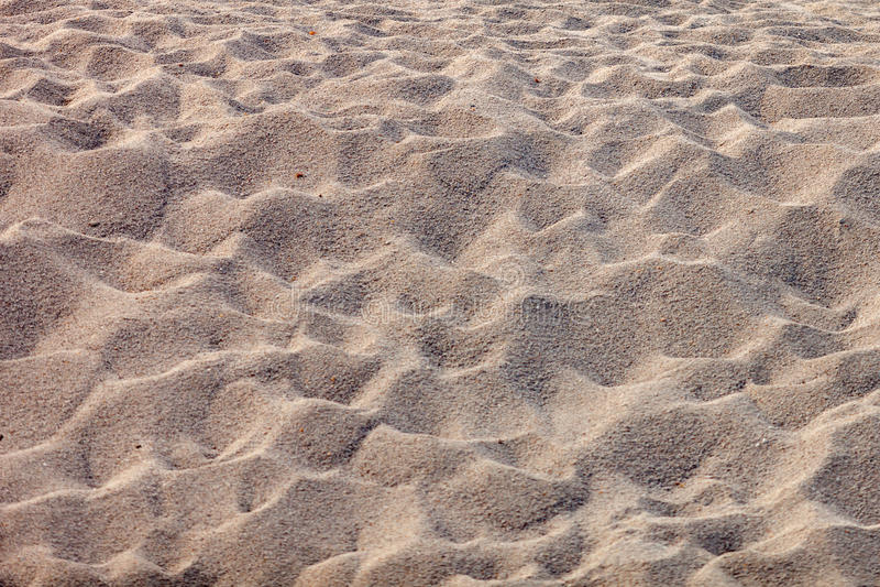 Closeup sand of beach stock photos