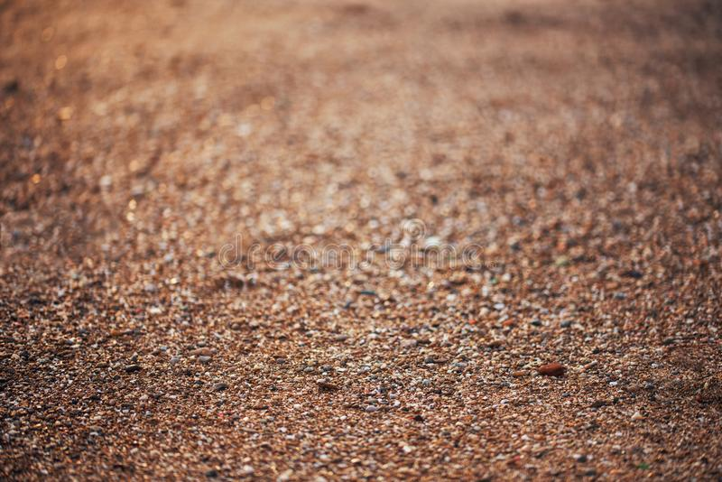 Closeup sand beach texture in summer sunny. Background and abstract concept royalty free stock photos