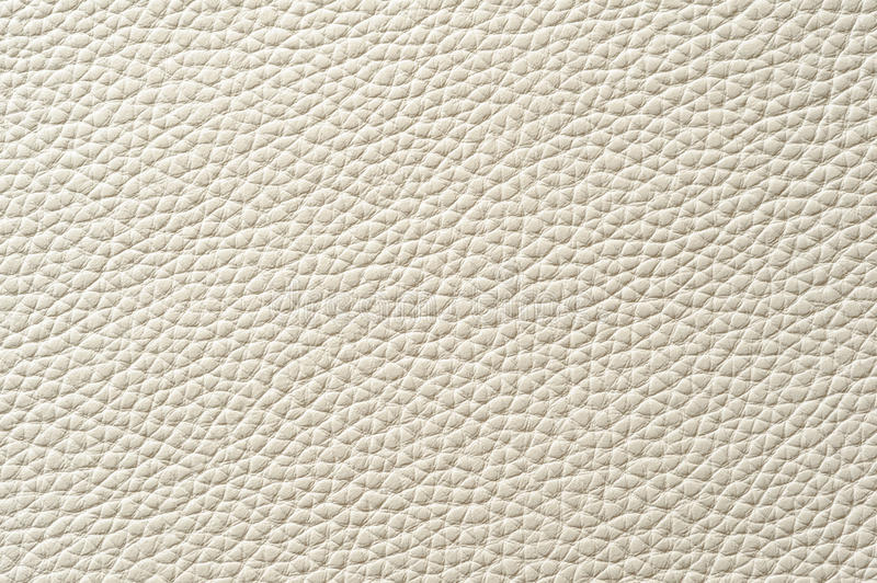 Closeup Of Seamless White Leather Texture Stock Image