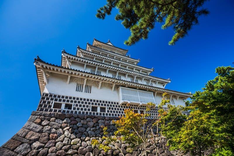 Closeup Shimabara castle in Nagasaki Prefecture, Kyushu. Shimabara castle in Nagasaki Prefecture, Kyushu stock photography