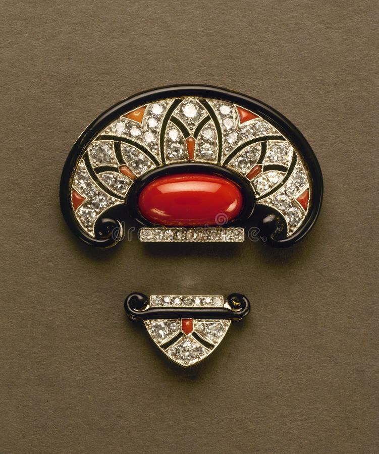 Closeup of shiny vintage jewelry stock photos