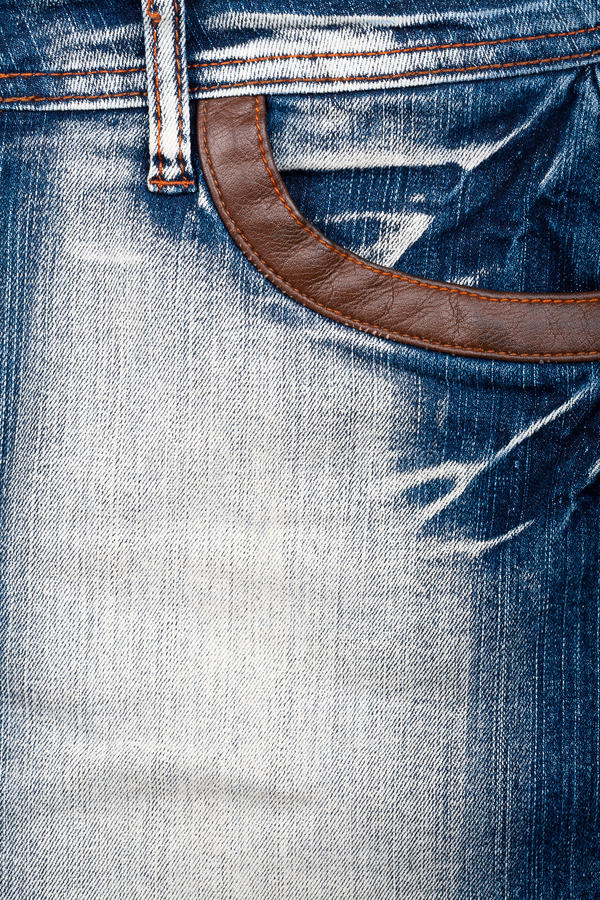 Download Closeup Shot Of Jeans Front Stock Image - Image: 24190019