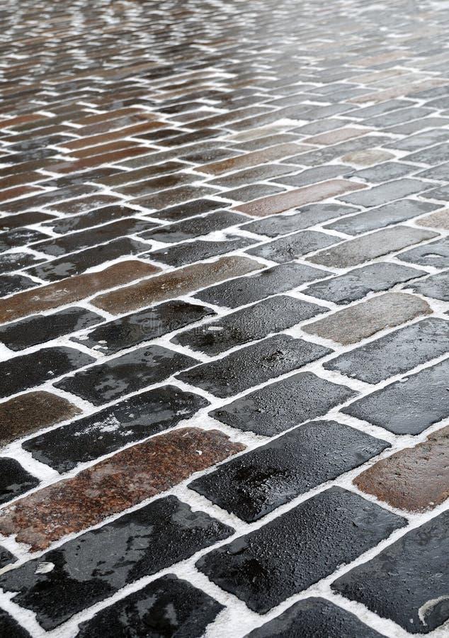 Free Closeup Sidewalk In Church Courtyard Royalty Free Stock Images - 13315429