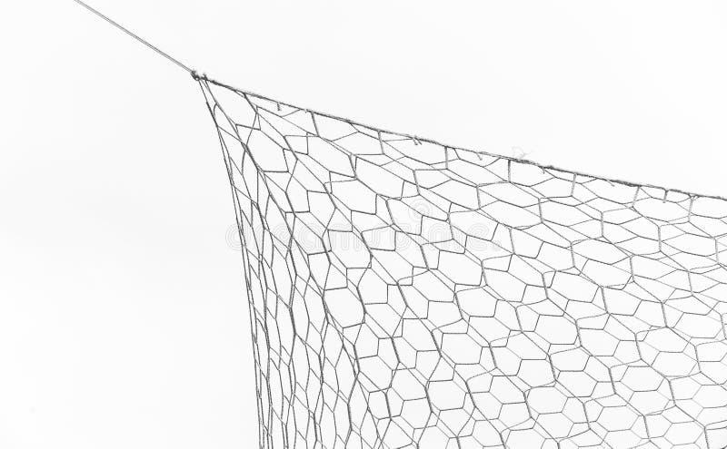 Closeup of soccer goal net. royalty free stock photos
