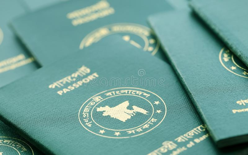 Passports Of Bangladesh Stock Photo Image Of Identify - 22506766-9400