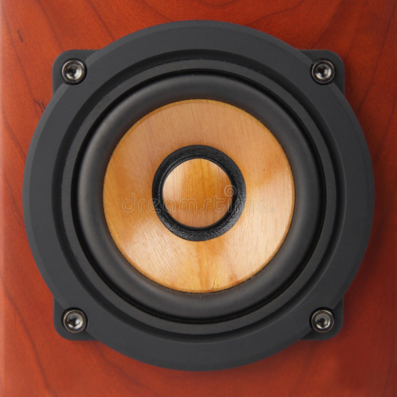 Download Closeup of speaker stock photo. Image of recording, electronics - 21896646