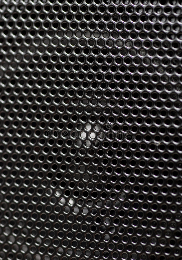 Closeup of speakers textures royalty free stock photography