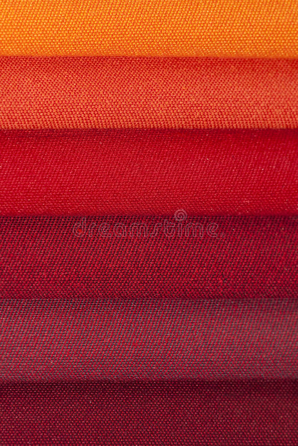 Closeup Of Stacked Fabric Stock Photography