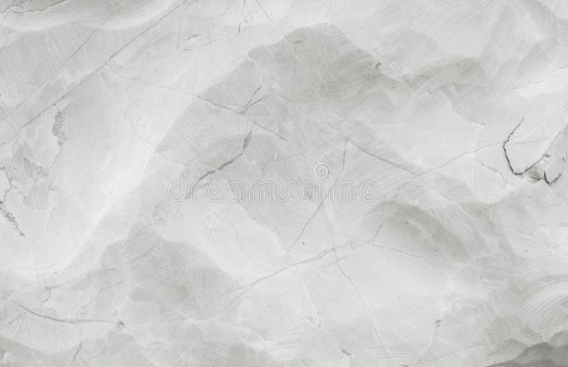 Closeup surface abstract marble pattern at the marble stone for decorate in the garden texture background in black and white tone stock images