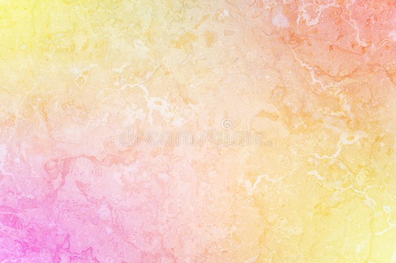 Closeup surface art tone abstract marble pattern at colorful marble stone wall texture background stock images