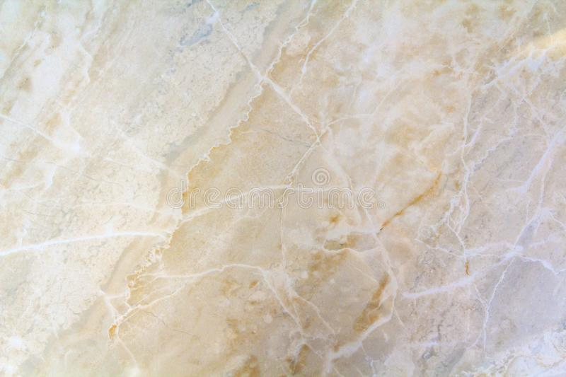 Closeup surface of marble pattern at the marble floor texture ba. Ckground , yellow abstract marble pattern stock photo