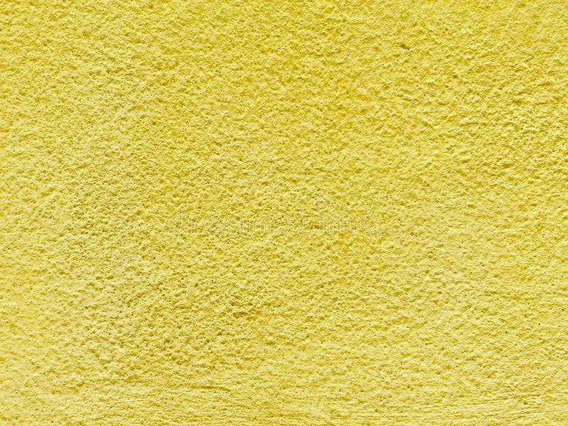 Closeup Surface Old Yellow Painted Cement Wall Textured Background ...
