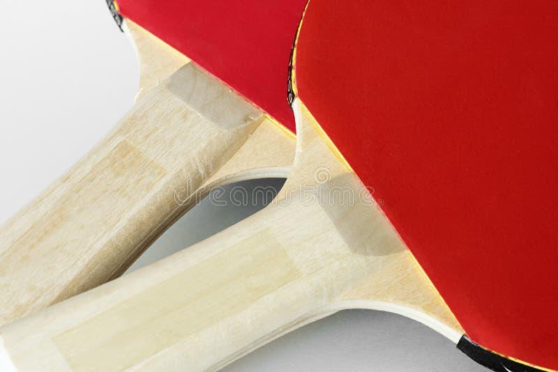 Closeup of table tennis stuff stock photo