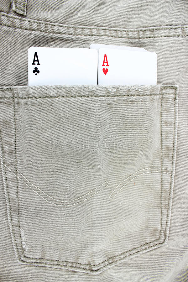 Download Closeup To Jeans Pocket With Game Cards Royalty Free Stock Photo - Image: 30949315