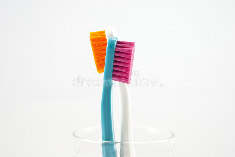 Download Closeup Toothbrush stock image. Image of dental, handle - 41241213