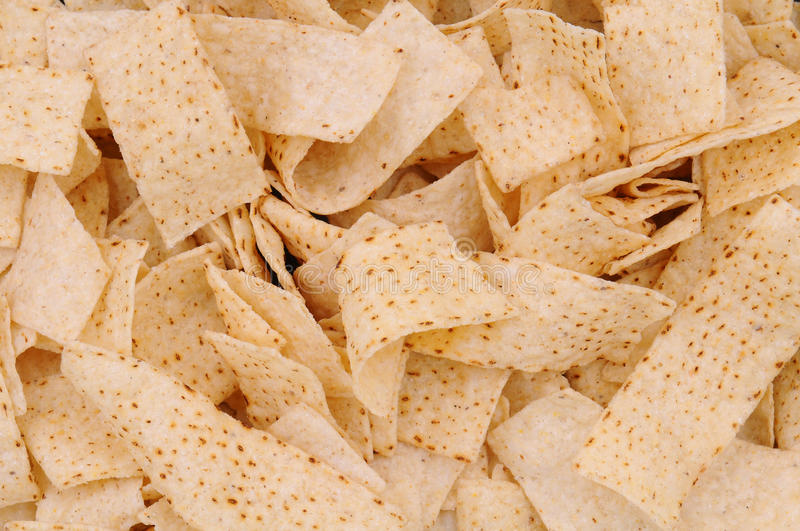 Download Closeup of Tortilla Strips stock photo. Image of crunchy - 24524708