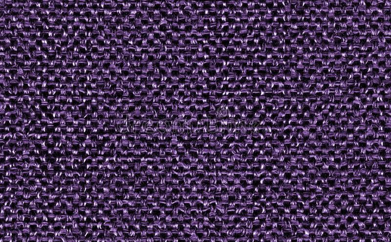 Closeup ultra violet color fabric sample texture backdrop. Ultra Violet,purple Fabric strip line pattern design,upholstery for dec. Oration interior design or stock photography