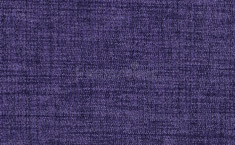 Closeup ultra violet color fabric sample texture backdrop. Violet,purple Fabric strip line pattern design,upholstery for decoratio. N interior design or abstract royalty free stock image