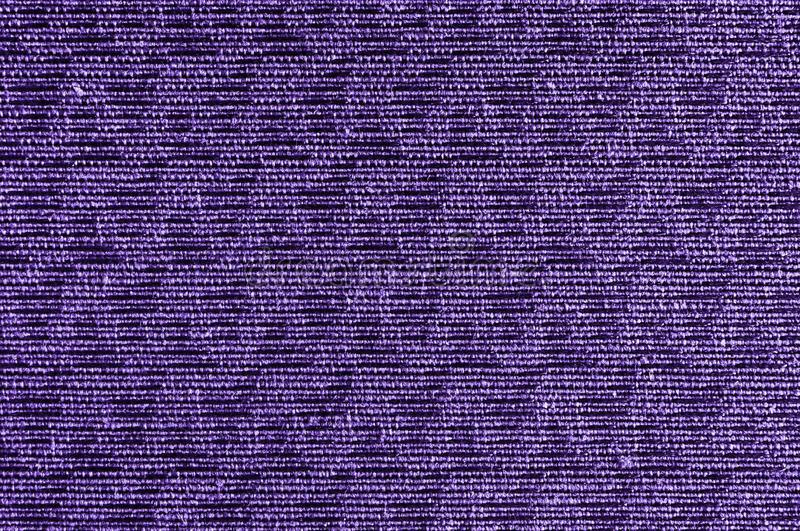 Closeup ultra violet color fabric sample texture backdrop. Ultra Violet,purple Fabric strip line pattern design,upholstery for dec. Oration interior design or stock images