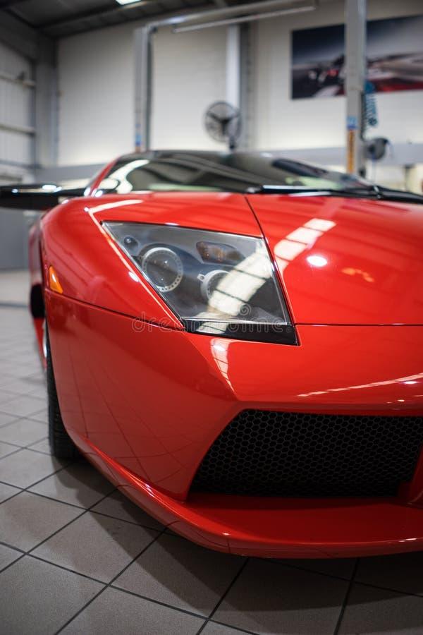 Lamborghini Mucielago Closeup royalty free stock photography