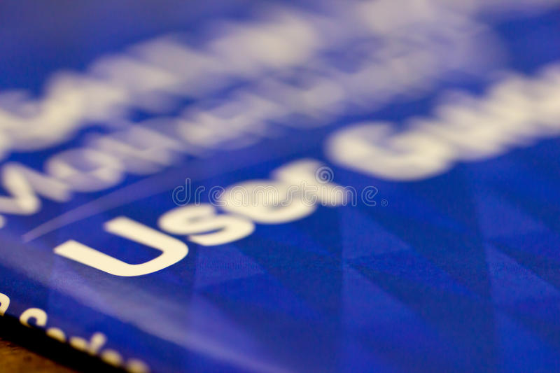 Download Closeup View Of Cover Of User Guide Book Stock Photo - Image: 27117730