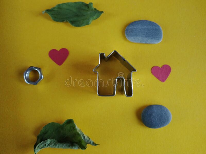 Still life housing concept stock images