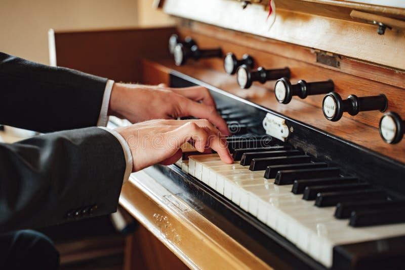 Musician organ player vintage music photo