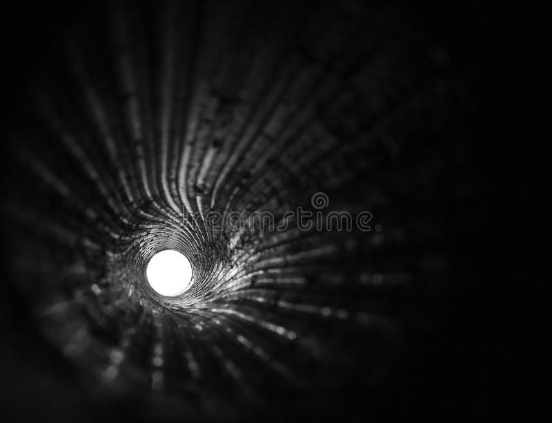 Download Closeup View Of Rifling Spirals In A WWII 6 Gun Stock Photography - Image: 22340342