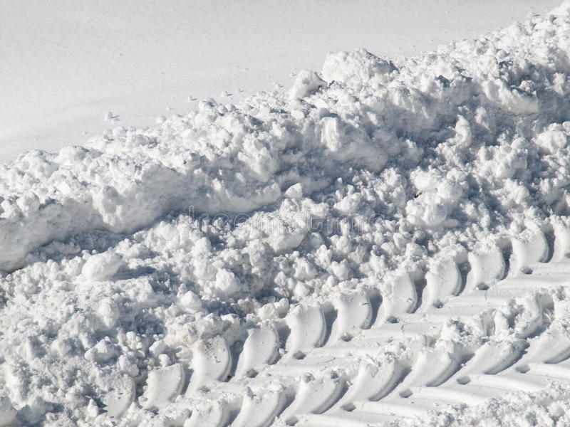 Download Snow track stock image. Image of pattern, snowfall, automobile - 29842713