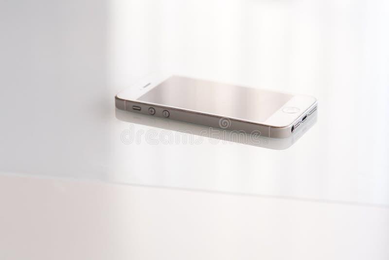 Closeup View Of White Smart Phone. Connectors Details. Free Public Domain Cc0 Image