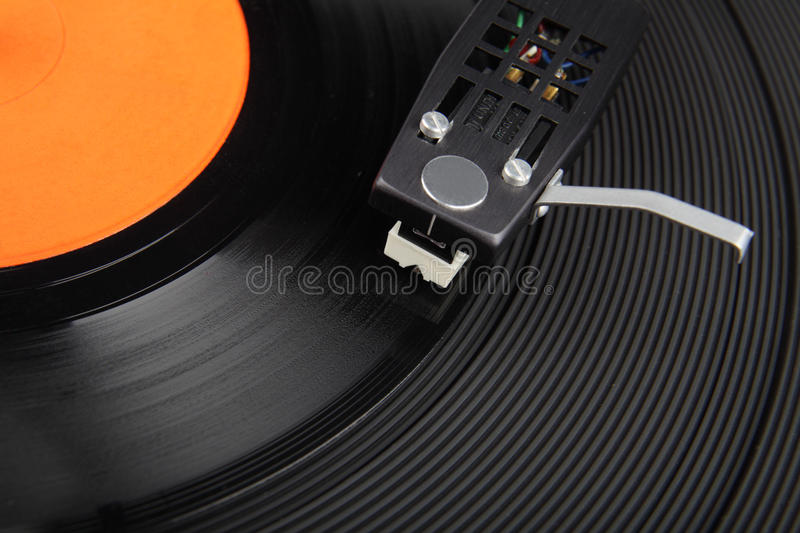 Download Closeup Of Vintage Record Player Stock Photo - Image: 25643030