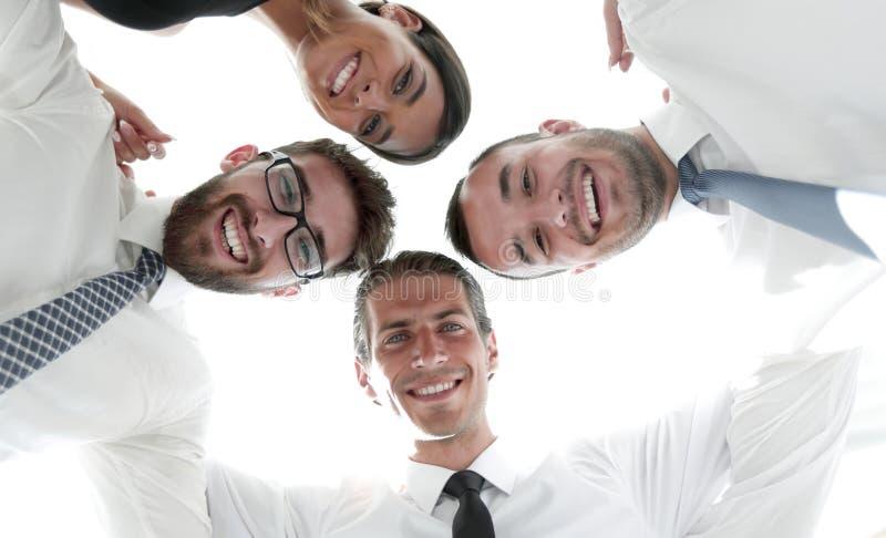 closeup Vista inferior Executivos bem sucedidos fotos de stock
