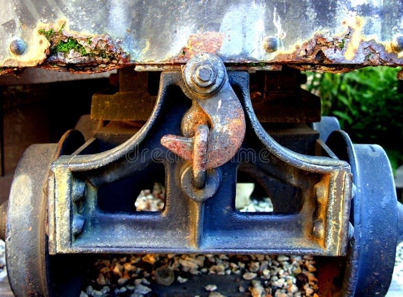 Closeup of a wagon