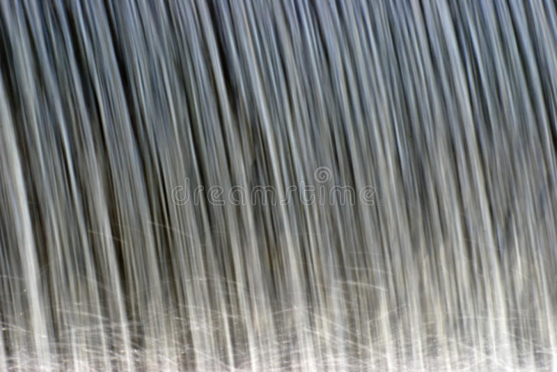 Closeup Of Water Falling Stock Photography