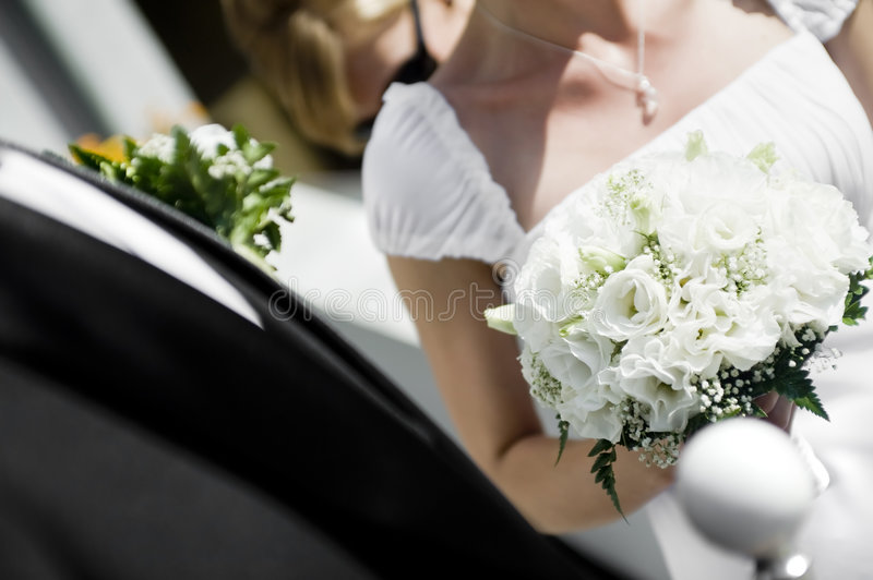 Download Closeup of wedding pair stock image. Image of wedding - 6428281