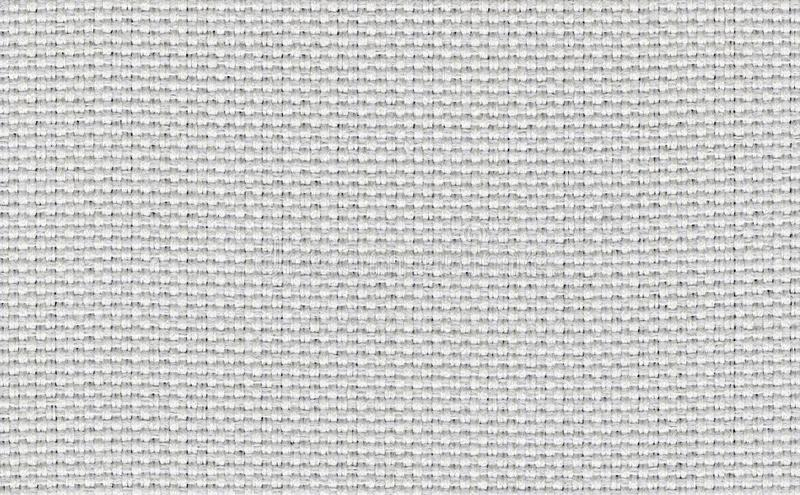 Closeup white,beige,light grey color fabric sample texture backdrop.White fabric strip line pattern design,upholstery for decorati. On interior design or stock photography