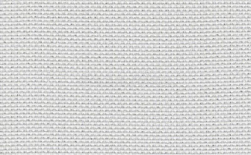 Closeup white,beige,light grey color fabric sample texture backdrop.White fabric strip line pattern design,upholstery for decorati. On interior design or stock images