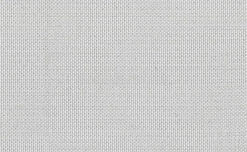 Closeup white color fabric sample texture. Strip line white fabric pattern design or upholstery abstract background.  stock images