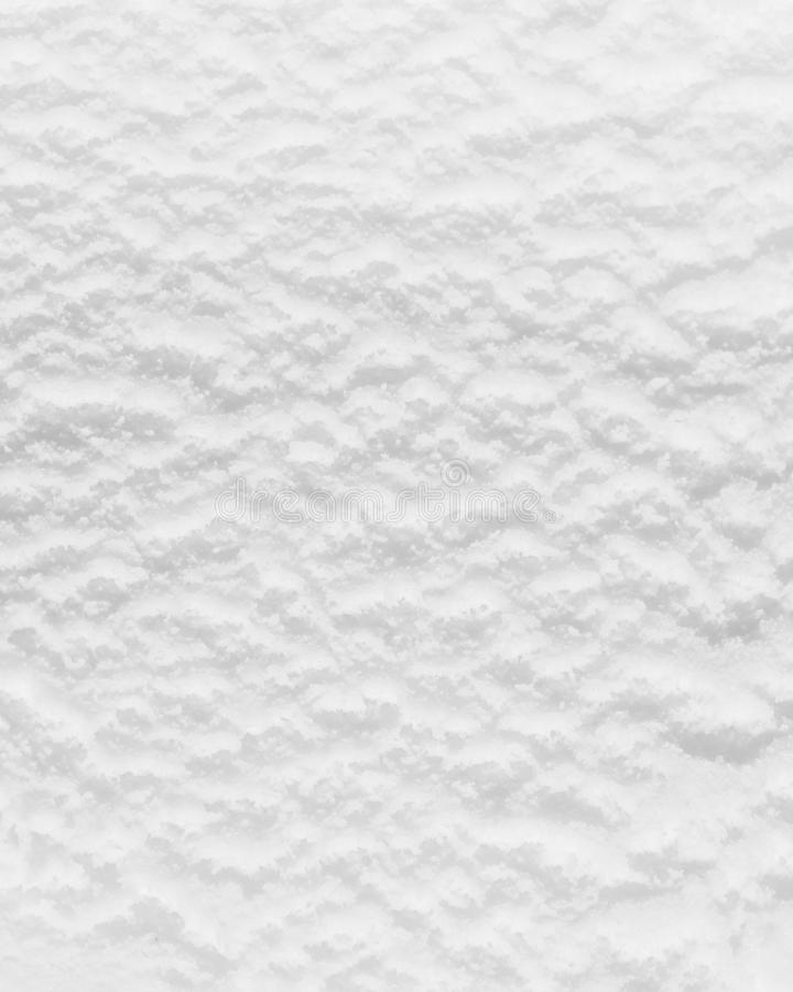 Closeup of white ice cream surface stock photography