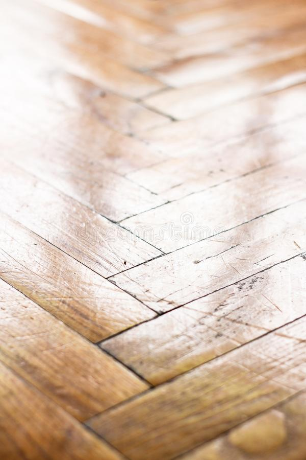 Closeup of wooden brown cool material stock photo