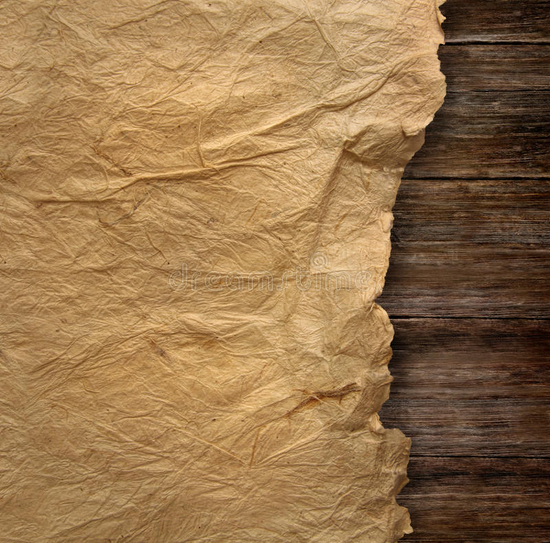 Download Closeup Of  Wrinkled Parchment Paper Stock Image - Image: 16733049