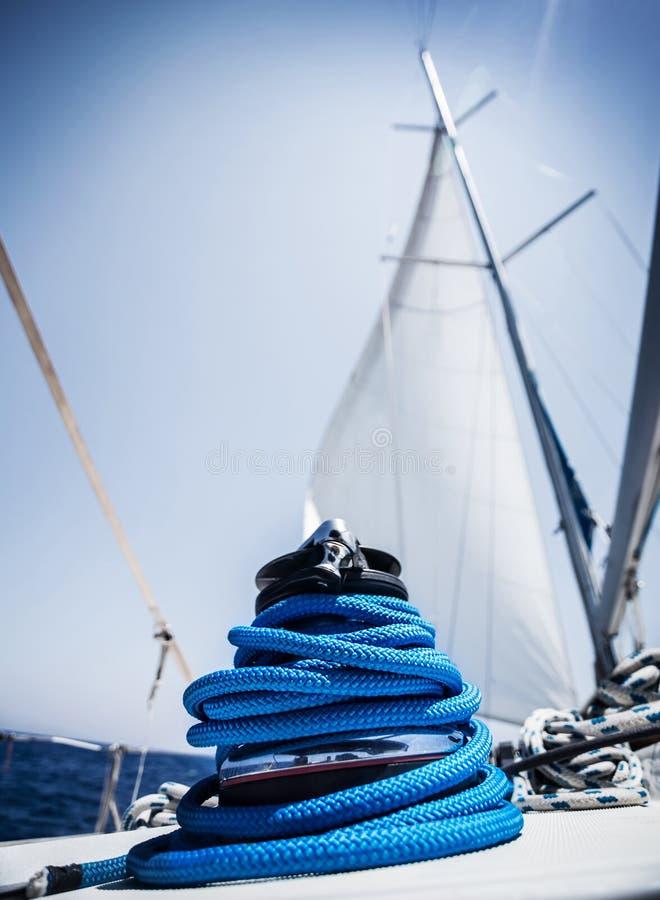 Download Closeup On Yacht Cord Crank Stock Photo - Image: 32670070