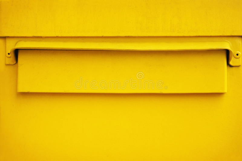 Download Yellow postbox stock photo. Image of mail, exterior, building - 30264406